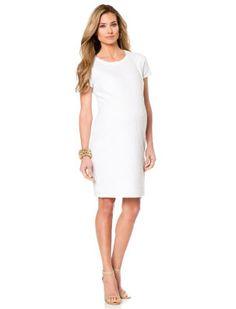 Vestido branco básico - Meu Estilo de Mãe