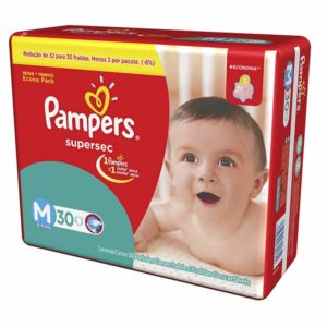 Fralda Pampers Supersec
