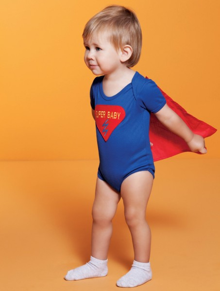 Fantasia Super Baby - Blog Meu Estilo de Mãe