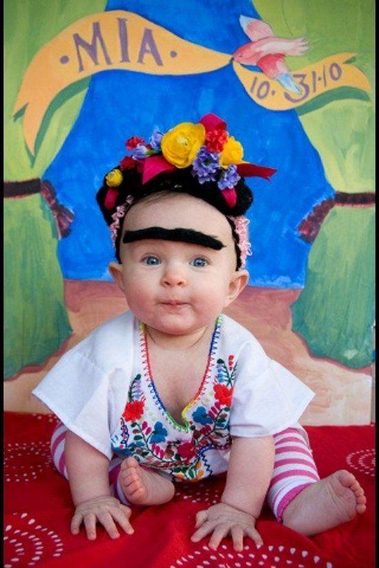 Fantasia Frida Kahlo - Blog Meu Estilo de Mãe