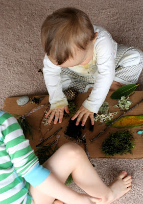 Quadro Sensorial - Método Montessori