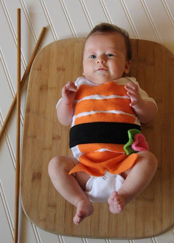 Fantasia Sushi Baby - Blog Meu Estilo de Mãe