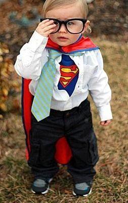Fantasia Super Homem - Blog Meu Estilo de Mãe