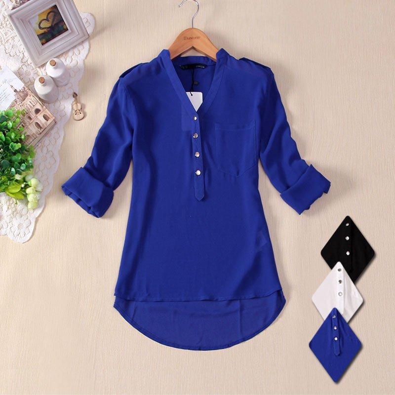 Camisa de quatro botões - Meu Estilo de Mãe