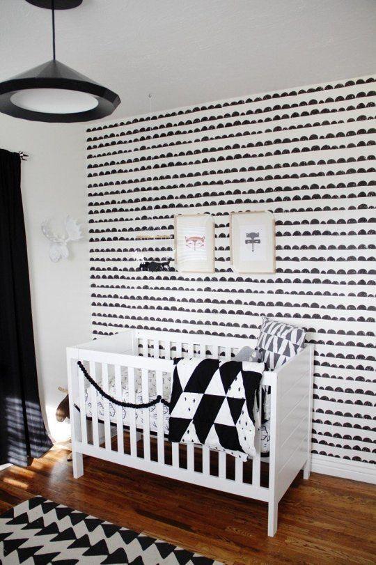 Decoração moderna para o quarto de bebê - Meu Estilo de Mãe