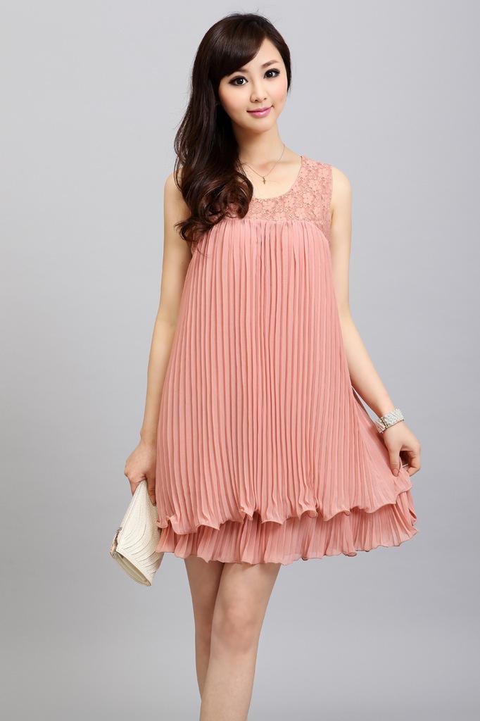 Esse estilo de vestido é romântico e elegante