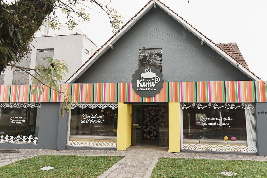 Kimi Café & Minifestas em Curitiba