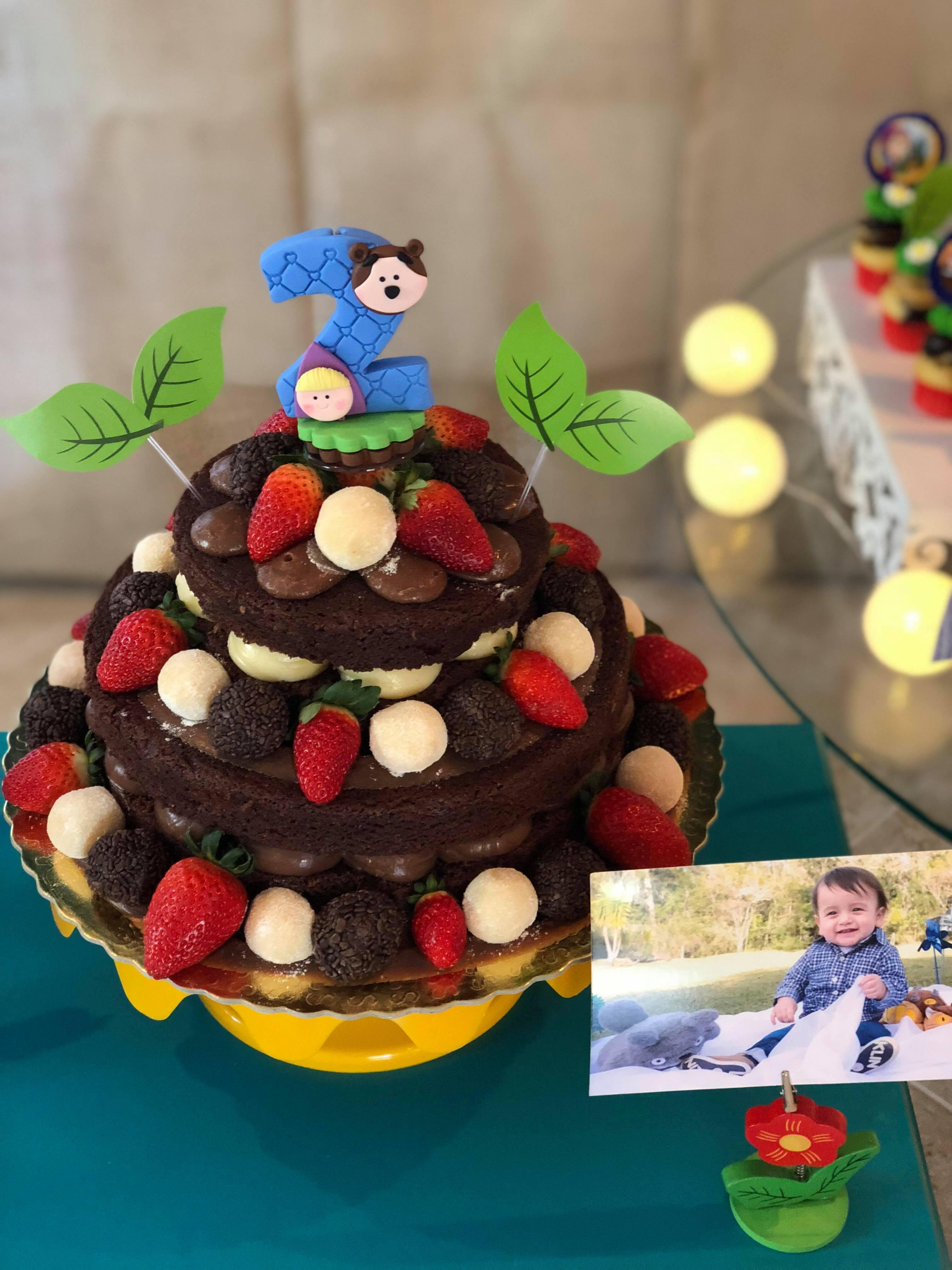 Festa Masha e o Urso - 2 anos Vitor