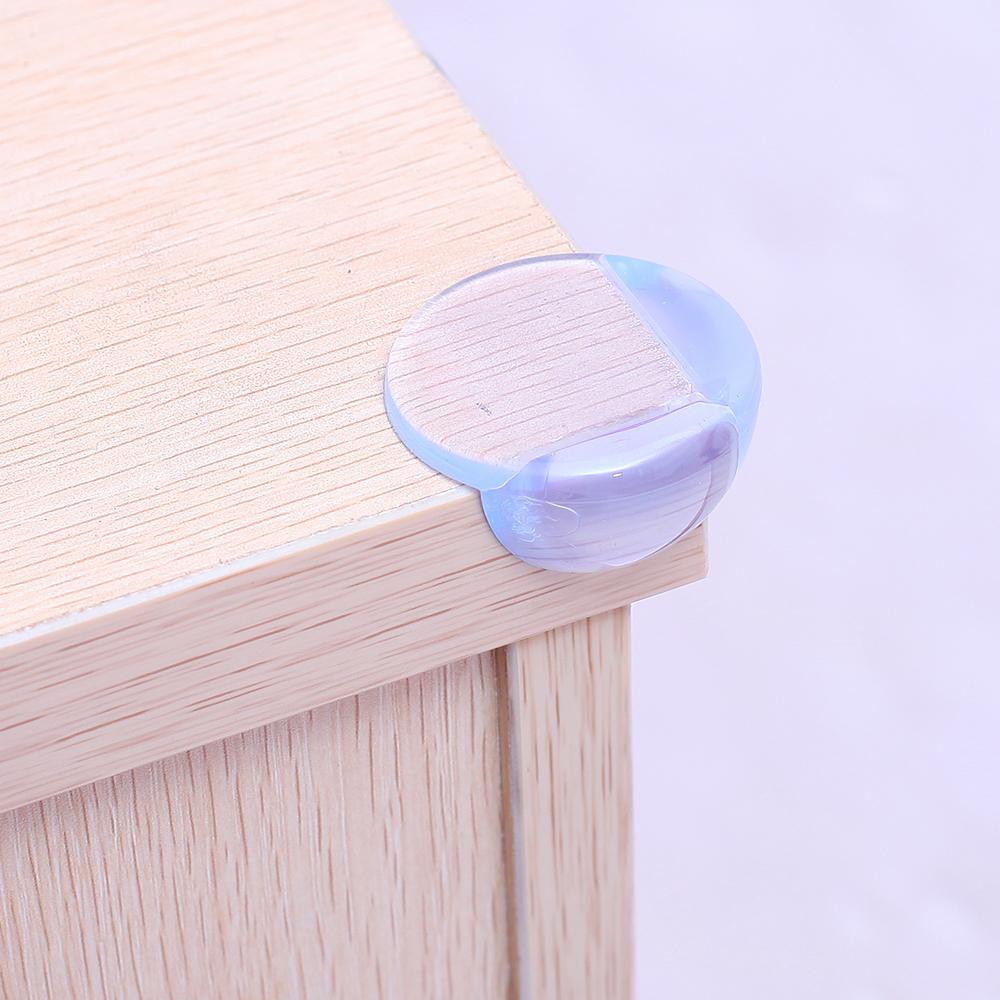 Os protetores de quinas podem ser utilizados em toda a casa