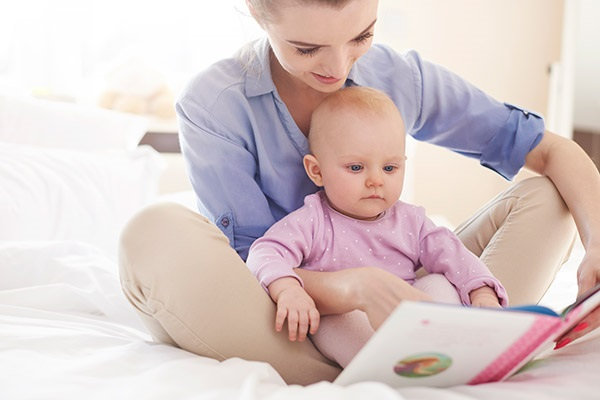 A leitura também é uma maneira de brincar