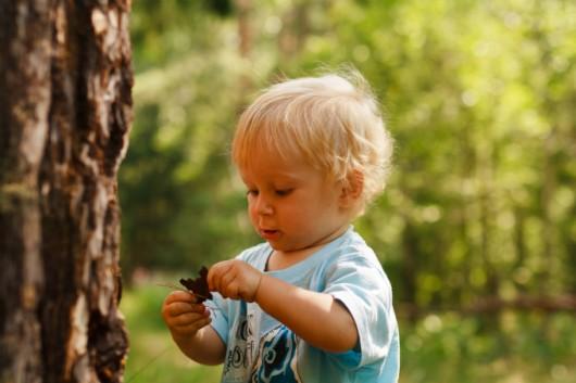 Brincar ao ar livre é aproveitar os recursos da natureza
